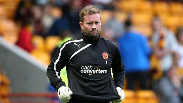 Scottish Premiership - Motherwell keeper not getting carried away
