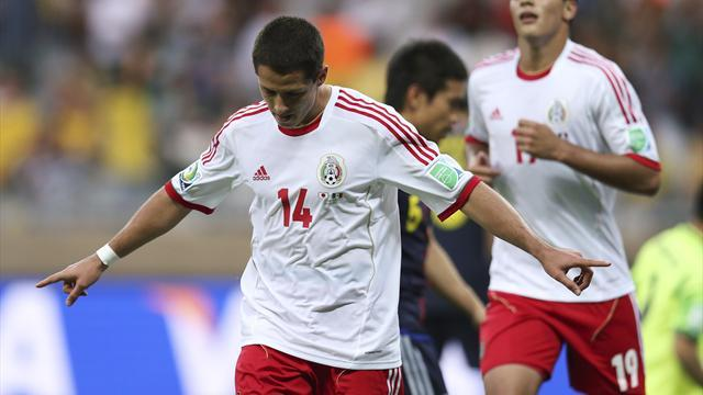 Confederations Cup - Hernandez misses hat-trick chance as Mexico beat Japan
