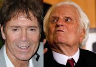 Cliff Richard and Billy Graham are known to be friends for decades