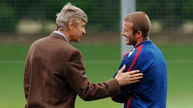 Football - Wenger wanted to sign Becks