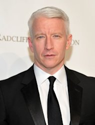 Anderson Cooper attends the 10th Annual Elton John AIDS Foundation's 'An Enduring Vision' benefit at Cipriani Wall Street, NYC, on October 26, 2011 -- Getty Images