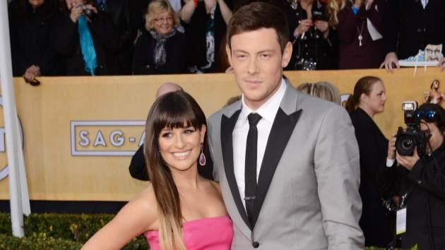Lea Michele and Cory Monteith attend the 19th Annual Screen Actors Guild Awards on January 27, 2013 in Los Angeles -- Getty Premium