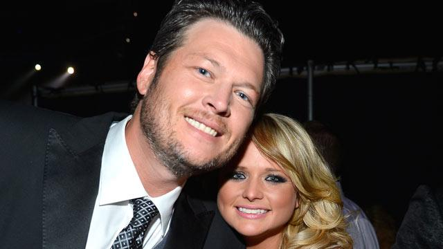 How Adam Levine and Miranda Lambert Toasted Blake Shelton on his 38th Birthday