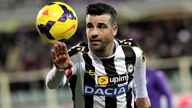 Serie A - Di Natale out as Udinese look to secure safety