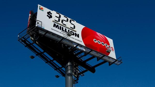 $325M Powerball Drawing Tonight