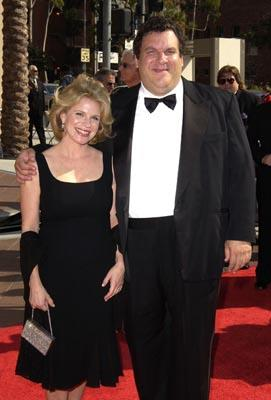 Jeff Garlin and wife Marla Emmy Creative Arts Awards - 9/13/2003