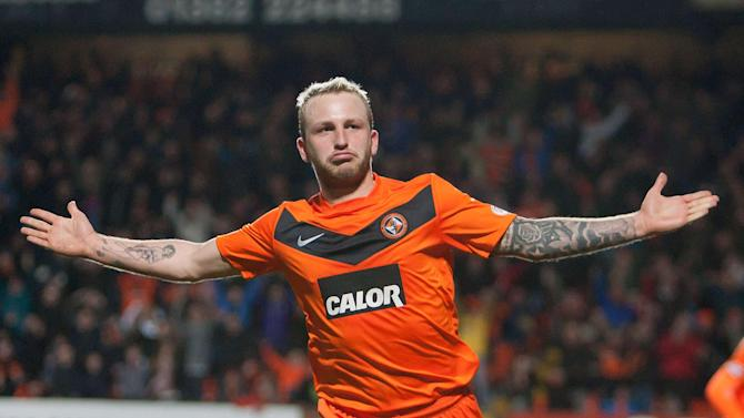 Johnny Russell scored Dundee United's first goal