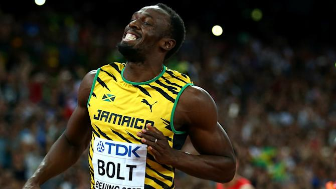 VIDEO: Bolt trains with French minnows - and the highlights are not flattering