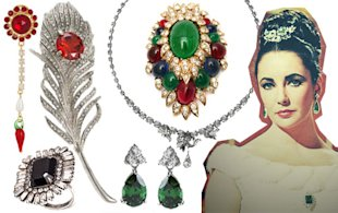 Elizabeth Taylor's Jewellery Auction Sparks The New Bling Trend!
