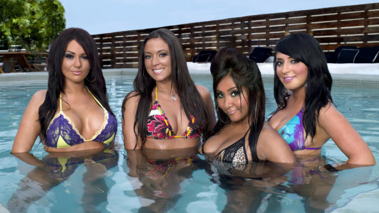 "The ladies of ""Jersey Shore."""