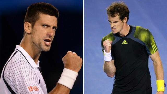 Australian Open - Djokovic and Murray prepare to bring the pain