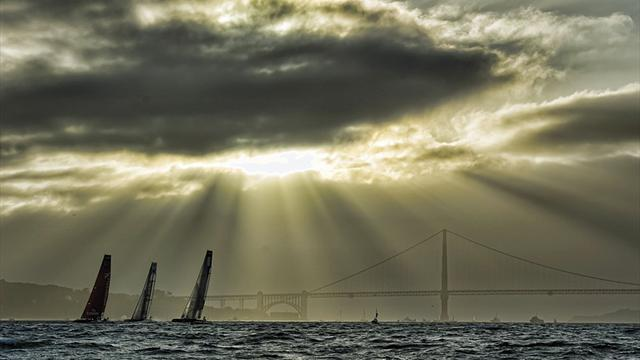 America's Cup - Captains quarrel over wind limits as weather delays racing