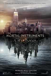 Poster of The Mortal Instruments: City of Bones