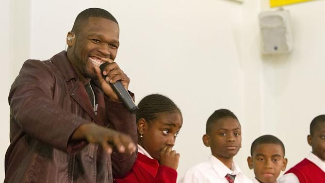 50 Cent Performs Crash Concerts at Brooklyn Boys & Girls Club