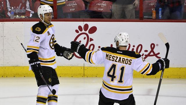 NHL - Boston Bruins win to clinch Atlantic Division title