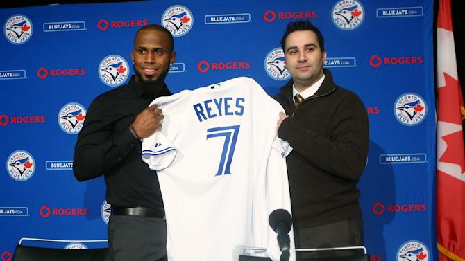 Toronto Blue Jays Introduce Jose Reyes