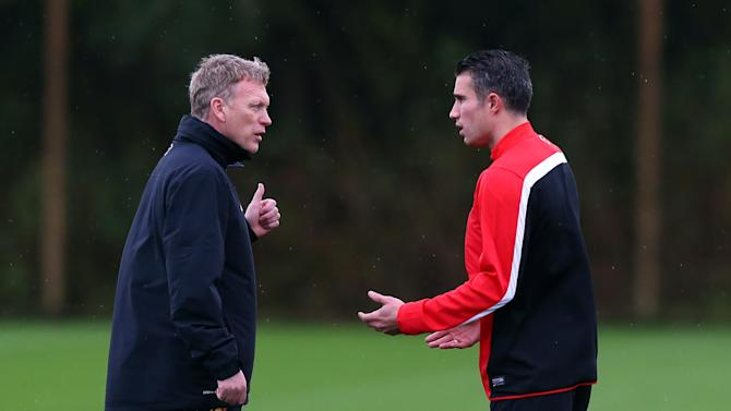 Manchester United Training & Press Conference