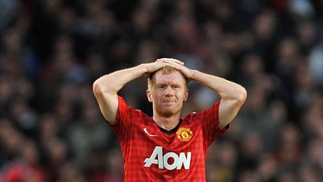 Football - Scholes missing for Madrid trip