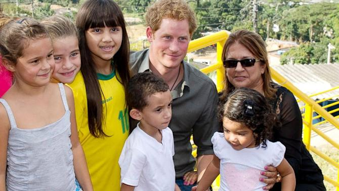 Prince Harry Moved to Tears on His Visit to Brazil