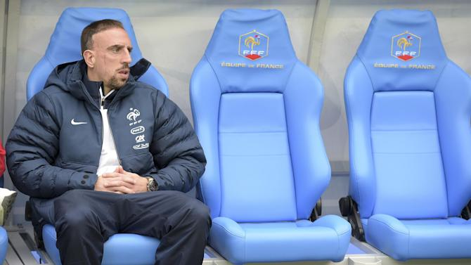 World Cup - France star Ribery out of World Cup