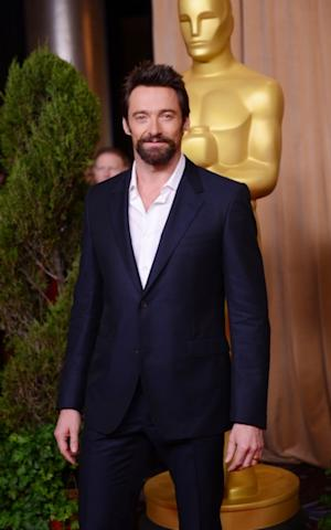 Hugh Jackman attends the 85th Academy Awards Nominees Luncheon at The Beverly Hilton Hotel on February 4, 2013 -- Getty Images