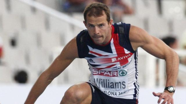 Athletics - Williams clocks new 400m hurdles personal best