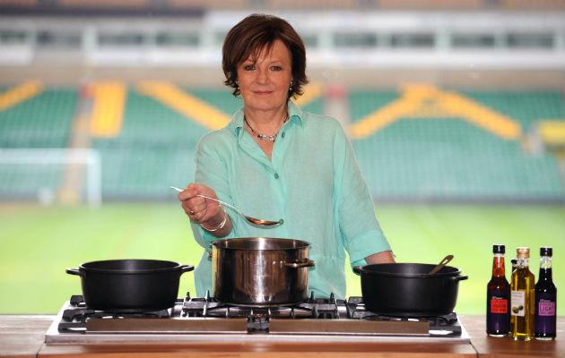 Delia... quitting TV for online tutorials (Copyright: Rex)