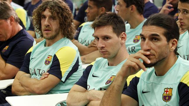 Liga - Puyol: Martino, Enrique would fit in well at Barca