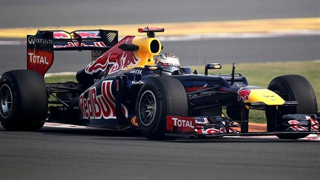 Formula 1 - Dominant Vettel secures Indian GP pole in Red Bull one-two