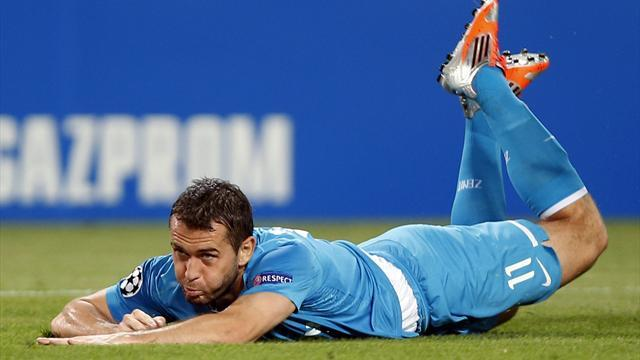 Zenit recall Kerzhakov after he makes peace
