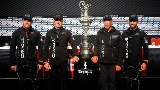 Sailing - Skipper Spithill to bid for America's Cup treble