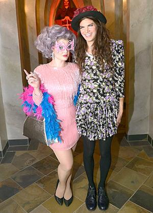 Kelly Osbourne and Fiance Matthew Mosshart Celebrate Halloween Early