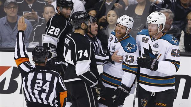 Ice Hockey - Sharks' Torres banned for second round for illegal hit