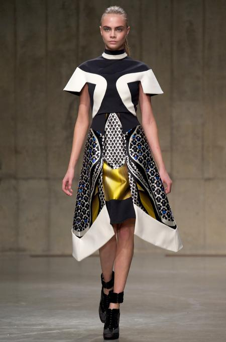 LONDON FASHION WEEK: Peter Pilotto Autumn/Winter 2013