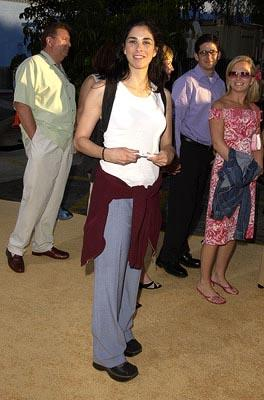 Premiere: Sarah Silverman at the LA premiere of New Line's Austin Powers in Goldmember - 7/22/2002