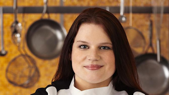 """Nona Sivley (Atlanta, GA) is a contestant on the Red Team on Season 8 of """"Hell's Kitchen."""""""