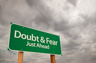 "How to Overcome the ""I'm Not an Expert"" Fear image doubt and fear ahead"
