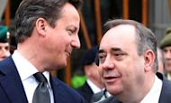PM Meets Salmond For Independence Talks