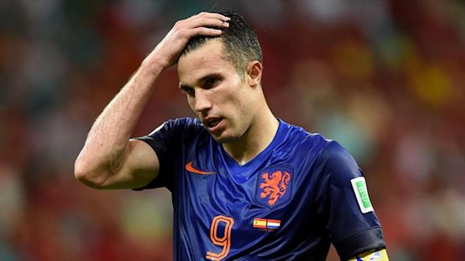 World Cup - Van Persie could miss semi-final against Argentina