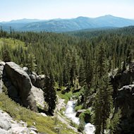 A crowd-free view of Kings Creek in Lassen Volcanic National Park.