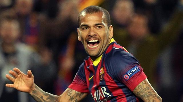 Liga - Alves: Barca will win league this season