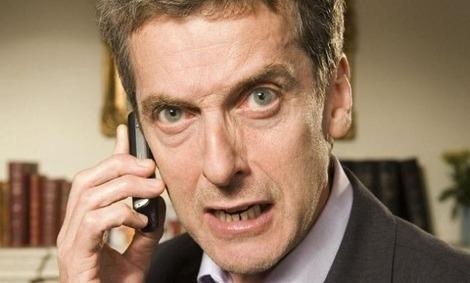 Will Peter Capaldi only be the Doctor for a year?