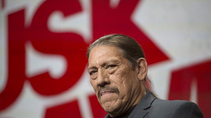 """Actor Danny Trejo participates in the El Rey Network's """"From Dusk Till Dawn"""" panel during the cable portion of the TCA Summer Press Tour in Beverly Hills, California"""