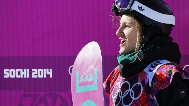 Snowboard - Derungs and Gasser star, GB's Jones misses out in slopestyle