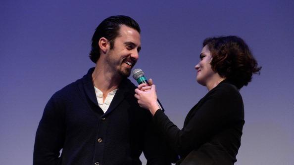 Milo Ventimiglia and Roxane Mesquida