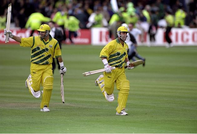Mark Waugh and Darren Lehmann