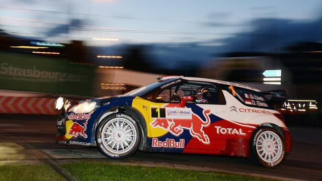 Loeb off the pace after France superspecial