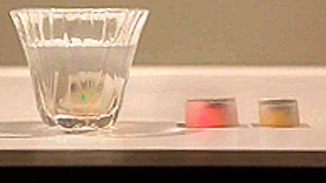 Ice Cubes That Track Alcohol Intake