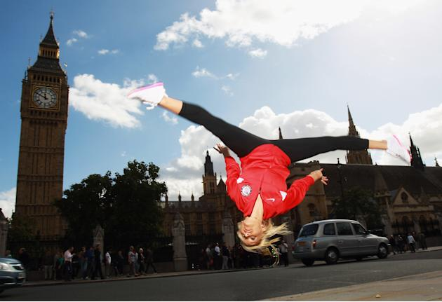 TEAM USA Britain Bound: Nastia Liukin visits London