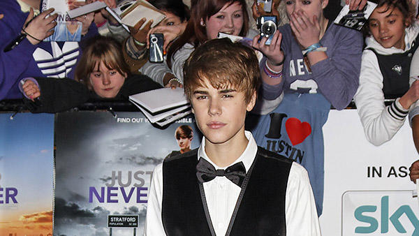 Never Say Never 3D UK Premiere